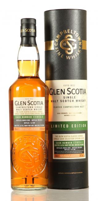 Glen Scotia Single Cask Spring Selection
