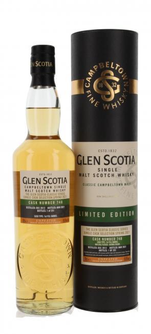 Glen Scotia Unpeated Bourbon