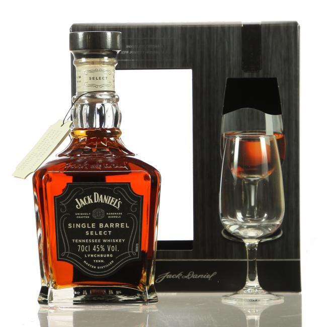 Jack Daniel's Single Barrel mit Nosingglas
