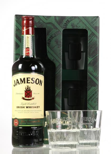 Jameson mit 2 Gläsern