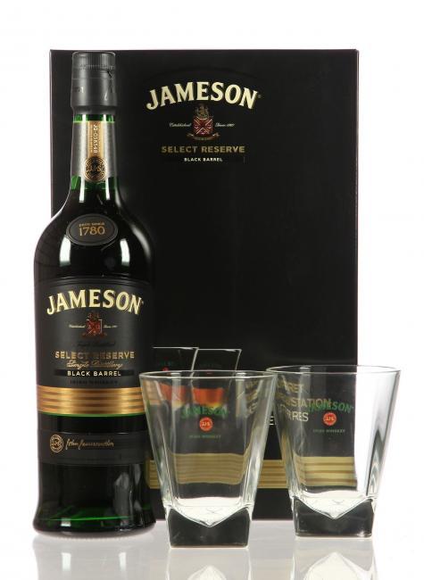 Jameson Select Reserve mit 2 Gläser