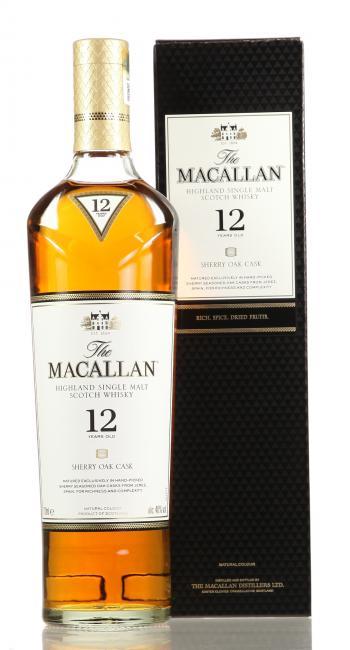 Macallan Sherryfass 12Jahre