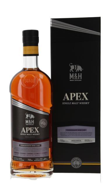 M&H Apex Small Batch Pomegranate Wine Cask Finish