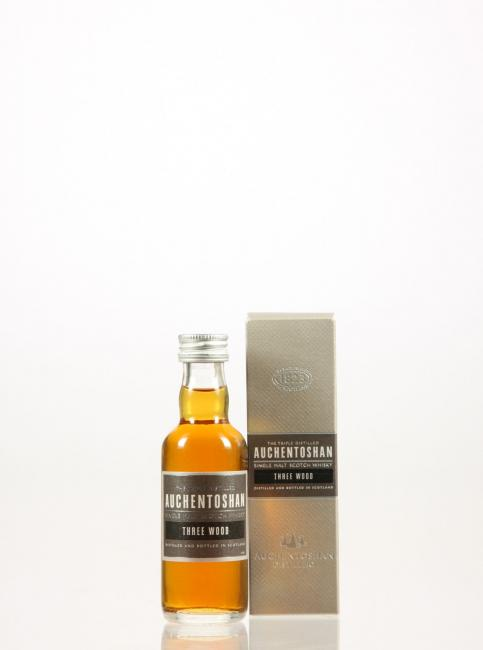 Miniatur Auchentoshan Three Wood