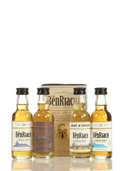 Miniatursortiment Benriach Classic Speyside Pack (Schottland)