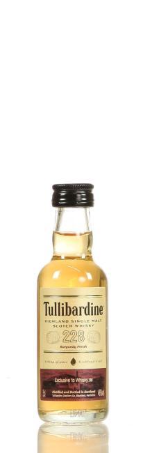 Miniatur Tullibardine 228 Burgundy 'Whisky.de exklusiv'