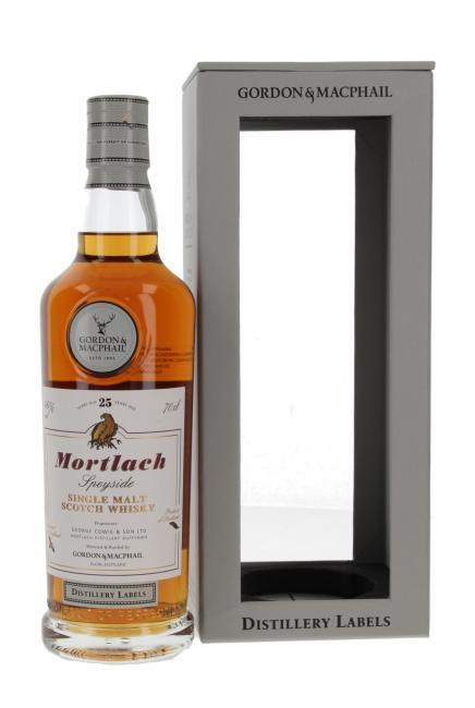 Mortlach Distillery Labels