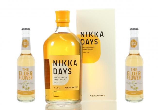 Nikka Days inkl. 2 FL Soda Libre The Elderflower