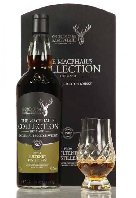 Old Pulteney MacPhails Collection mit Glas