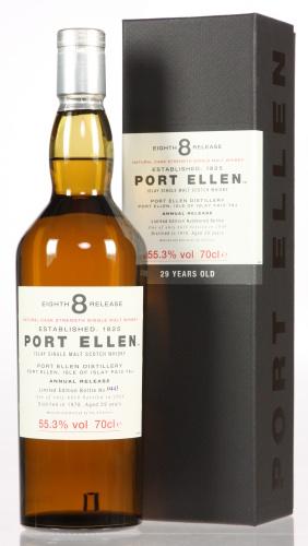 Port Ellen 8th Release mit leicht beschädigtem Etikett