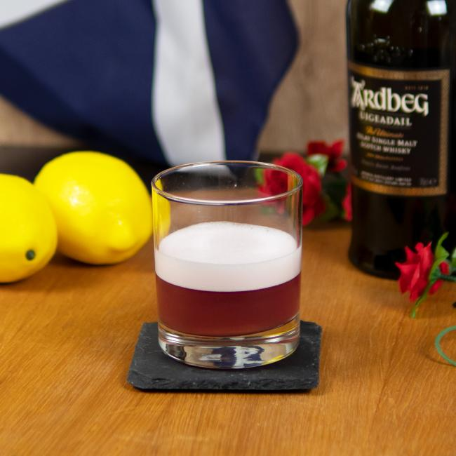 Cocktail Set Cranberry Smoky Whisky Sour