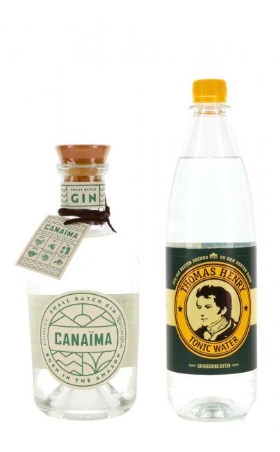 Canaima Small Batch Gin mit Tonic Water