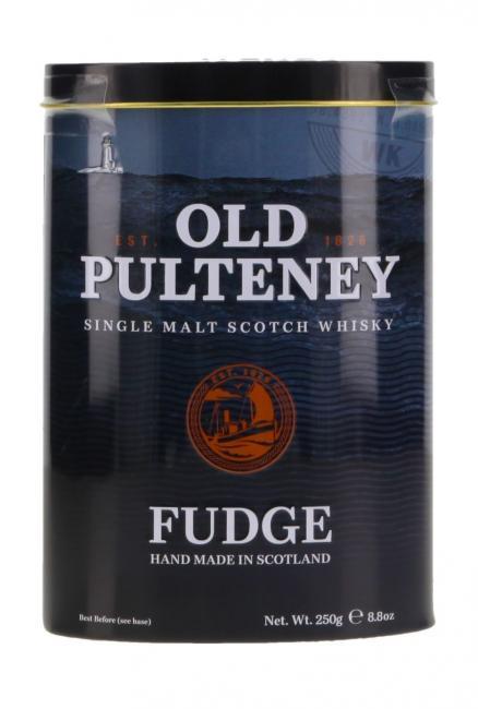Gardiner's Fudge mit Old Pulteney in Blechdose