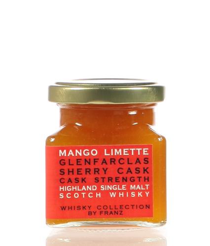 Mango-Limettenfruchtaufstrich mit Glenfarclas