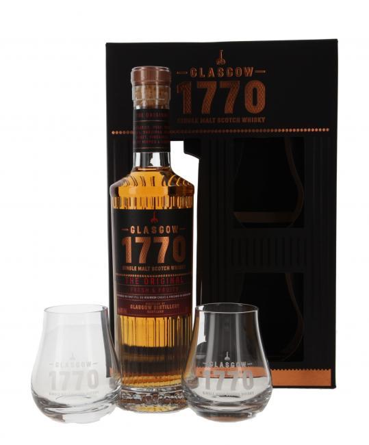 1770 Glasgow The Original Fresh & Fruity mit 2 Gläsern