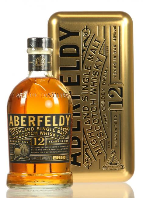 Aberfeldy Gold Bar Edition