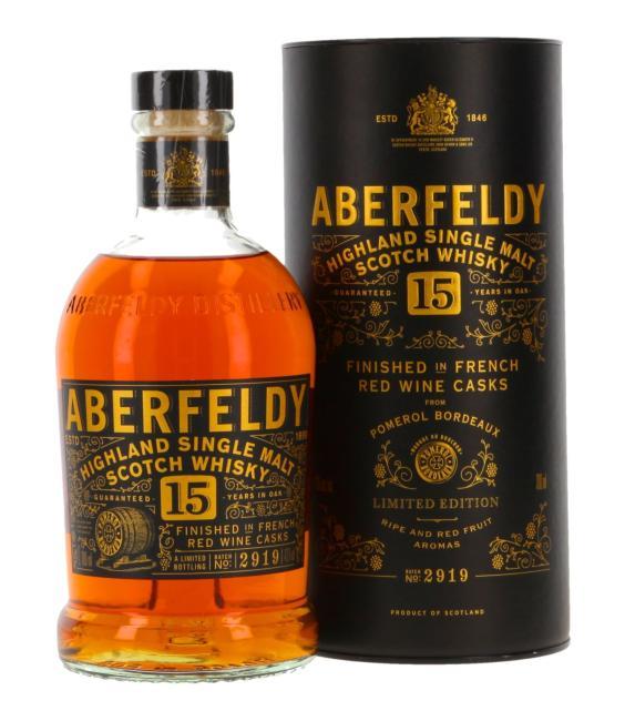 Aberfeldy Pomerol Finish