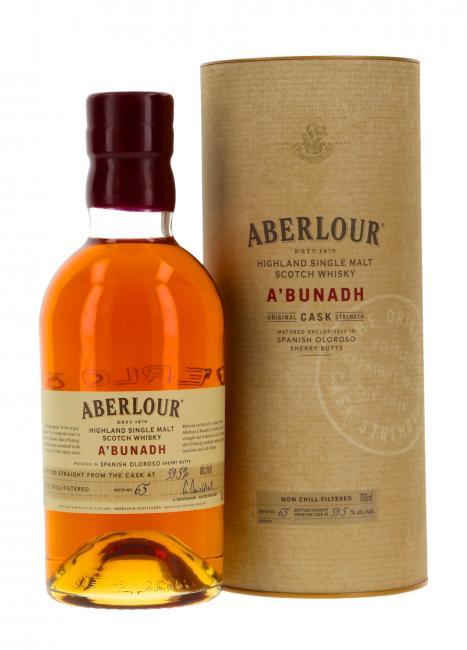 Aberlour a'bunadh Batch 65