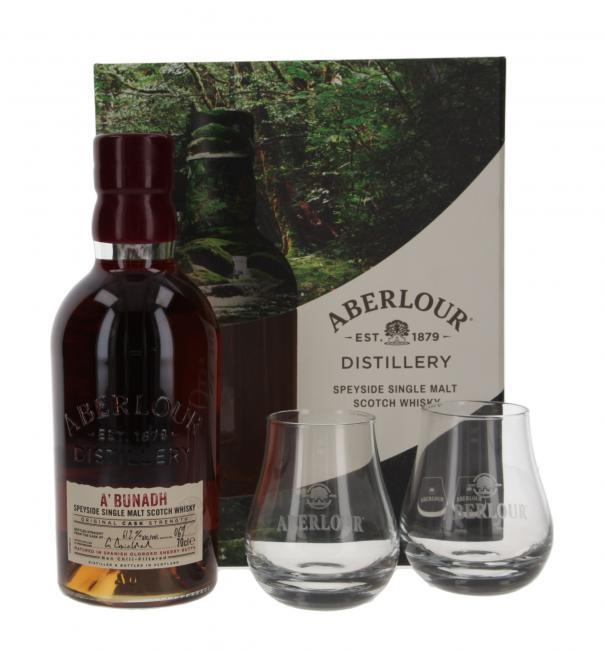 Aberlour a'bunadh Batch 69 mit 2 Gläsern