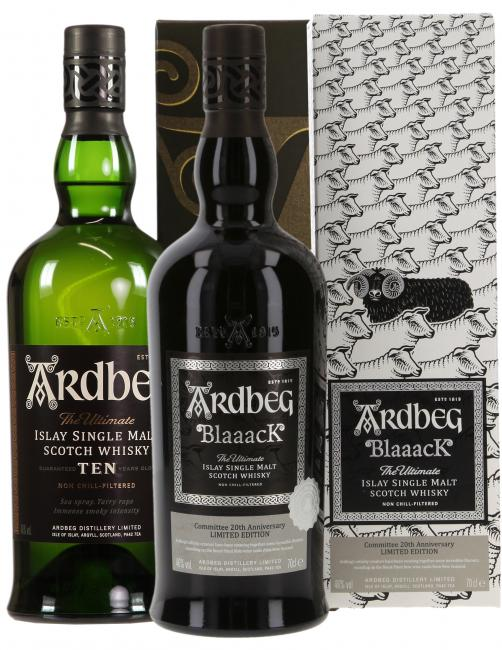 Set Ardbeg Blaaack + TEN