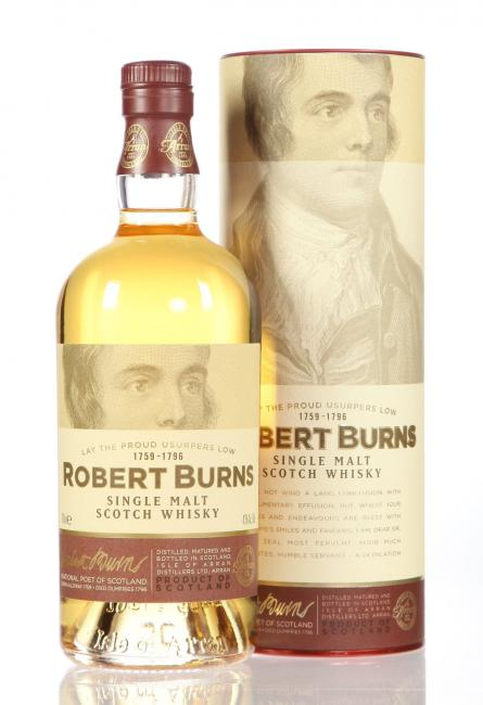 Robert Burns Single Malt mit Tumbler