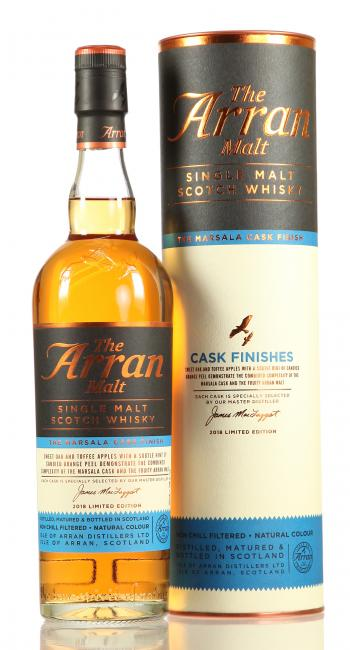 Arran Marsala Cask Finish