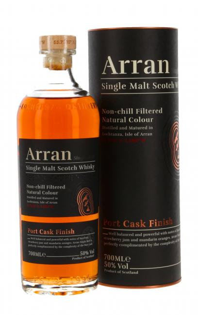 Arran Port Cask Finish - neues Design