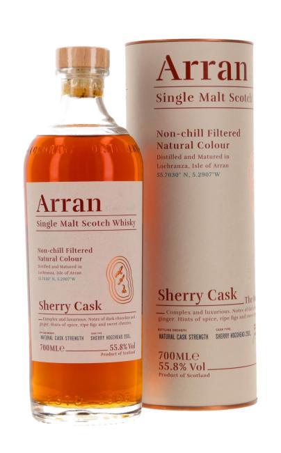 Arran Sherry Cask - The Bodega