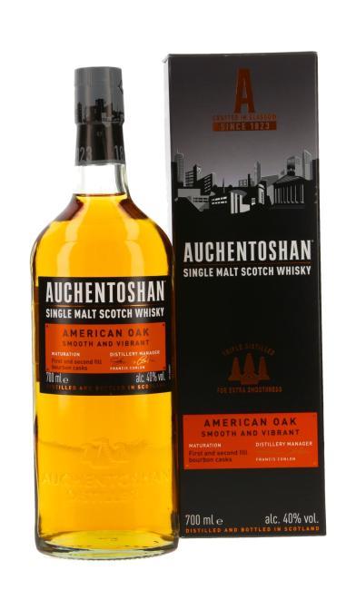 Auchentoshan American Oak inkl. gratis Blechtasse Auchentoshan