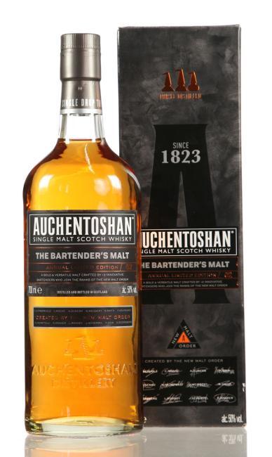 Auchentoshan Bartender's Malt No. 2 inkl. 2 gratis Blechtassen Auchentoshan