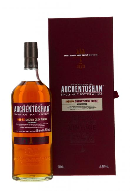 Auchentoshan PX Sherry Cask Finish