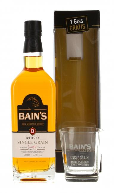 Bain's Cape Mountain mit Glas