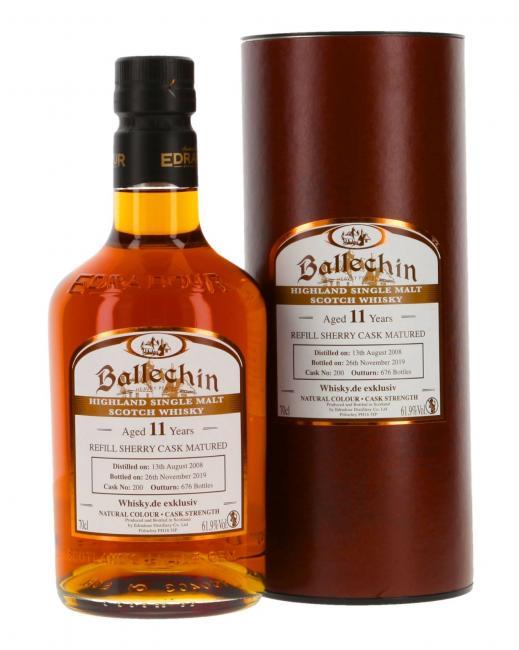 Ballechin Sherry 'Whisky.de exklusiv'