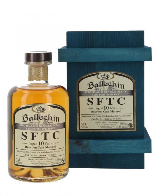 Ballechin Bourbon Cask
