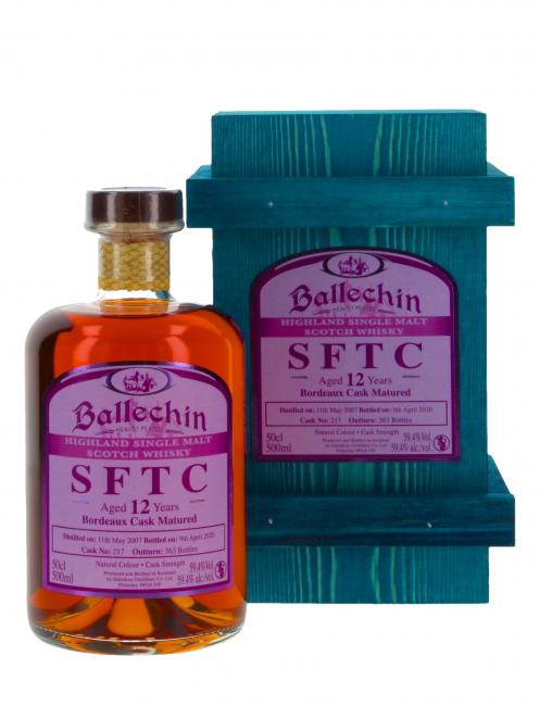 Ballechin Bordeaux Cask
