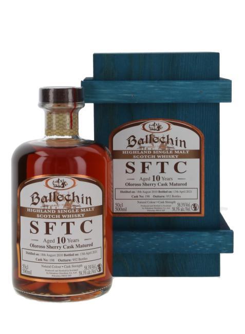 Ballechin Oloroso Sherry