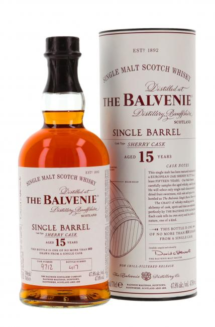 Balvenie Single Barrel Sherry Cask