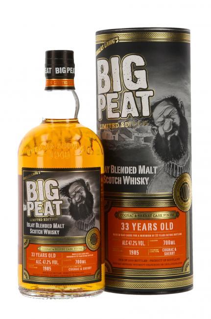 Big Peat Cognac und Sherry Cask