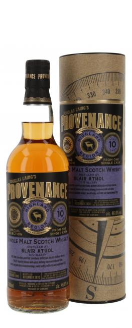 Blair Athol Provenance