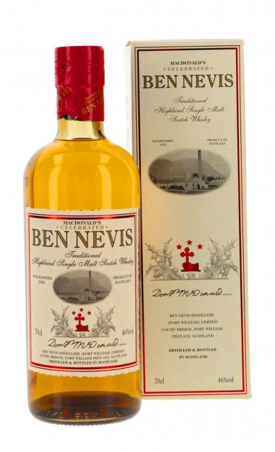Ben Nevis MacDonald's Traditional Peated