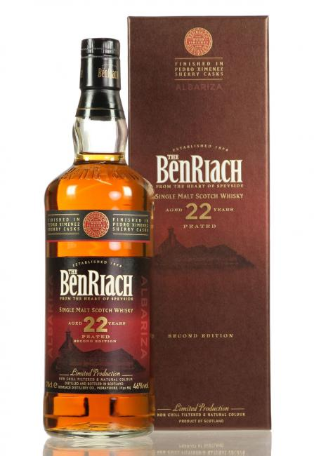 Benriach Peated  Albariza PX Finish