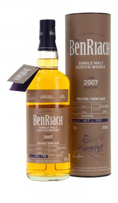 Benriach Single Cask Peated Rum