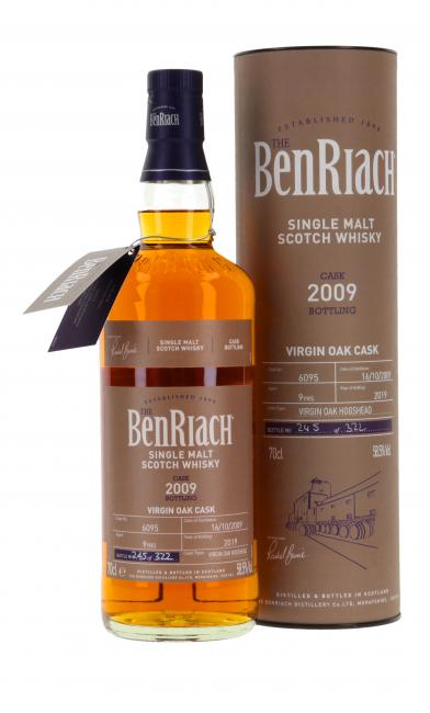 Benriach Single Cask Virgin Oak