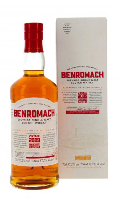 Benromach Cask Strength - Batch 4