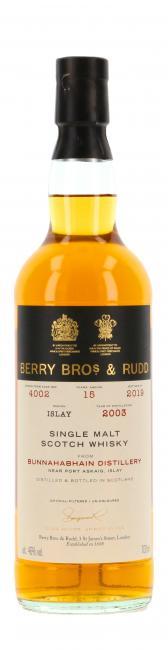 Bunnahabhain Berry Bros. & Rudd