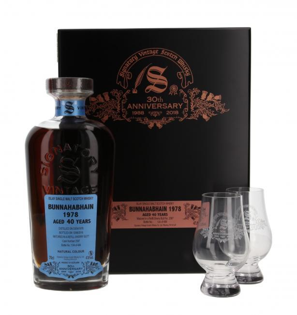 Bunnahabhain 30th Anniversary mit 2 Gläsern
