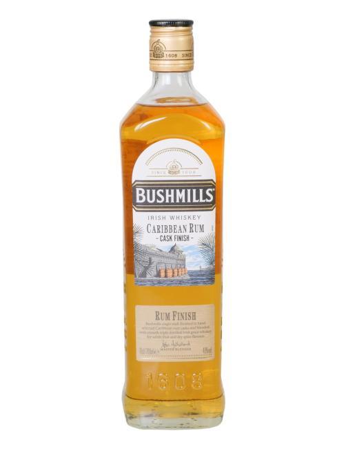 Bushmills Caribbean Rum Cask Finish inkl. gratis Tumbler Bushmills mit Untersetzer