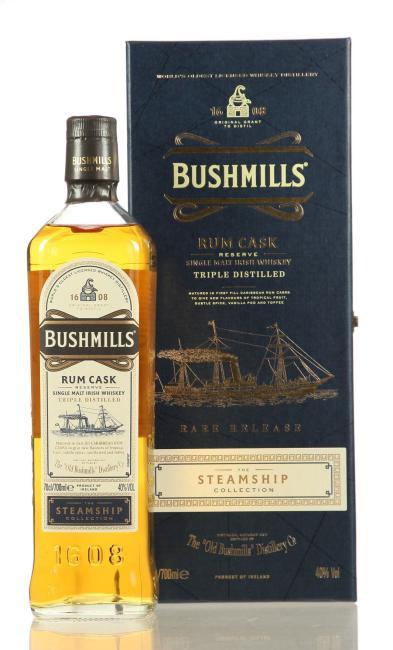 Bushmills Steamship Rum Cask