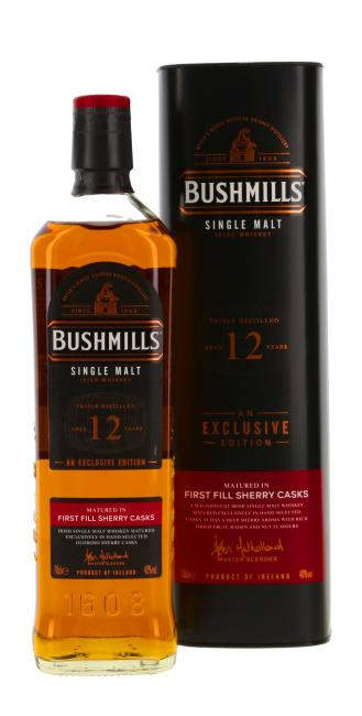 Bushmills First Fill Sherry Casks