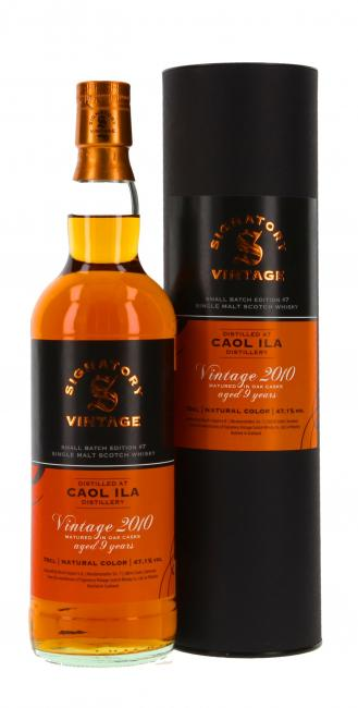 Caol Ila Vintage Small Batch No. 7
